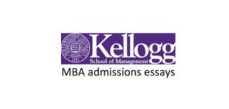 kellogg admissions essays