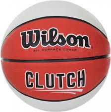 <b>Мяч баскетбольный Wilson Clutch</b> красный/белый цвет — купить ...