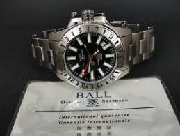 watches for rlf ball submariners 300m 1000ft gmt 2893 swiss ss date automatic mens watch w card