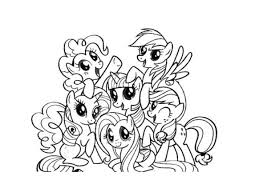 20 Chibi My Little Pony Coloring Pages Traceable Ideas And Designs