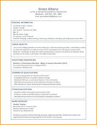 11 Sample Student Resume Format Azzurra Castle Grenada