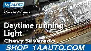 2006 Chevy Silverado Bulb Chart How To Replace Running Light Bulb Socket 01 06 Chevy Silverado
