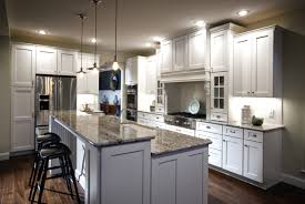 ... White Kitchen Island With Seating K U0026 B And Faux Marble · French Kitchen  Island Marble Top ...