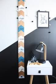 Stylish Height Charts For Children Kids Bedrooms Wooden