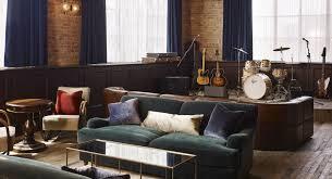 Living Room Bar Chicago Soho House Chicago Home