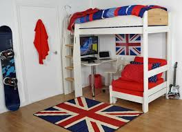 Loft Beds For Adults Coolest And Loveliest Ideas Plus Cool Bed With Desk  Bedroom Picture Awesome
