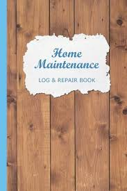 Yearly House Maintenance Home Maintenance Log Repair Book Checklist Record