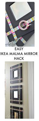 Ikea Mongstad Mirror De 25 Bsta Idcerna Om Ikea Mirror Hack Bara P Pinterest Diy