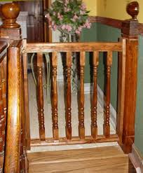 Baby Gates for Stairs with Banisters Cardinal Gates Stairway Special ...