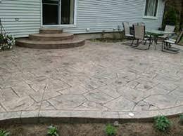 backyard concrete designs. Brilliant Designs Canyon Stone By Rolland Cement On Backyard Concrete Designs