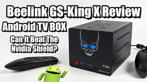 Beelink GS King X Android Tv Box + NAS First Look / Review - YouTube