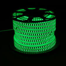 Light Fit Yogurt Coupon 50m High Quality Led Flexible Strip Light Double Line 180 Led M 13w M With 5 Years Lifespan Green
