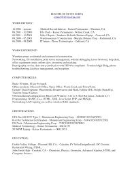 Resume Medical Records Sample Gallery Of Assistant Pinterest