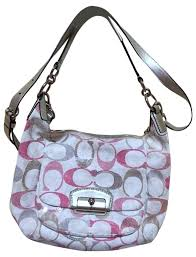 coach poppy in monogram large apricot totes bwy give you the best feeling   coach shoulder bag