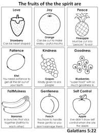 Small Picture 153 best Fruit of the spirit images on Pinterest Sunday school
