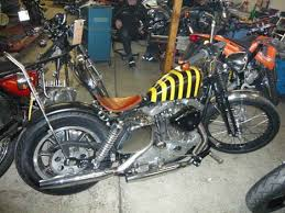 1980 xlh harley sportster ironhead engine in 1974 xlch frame by