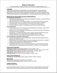 Good Examples Of A Resume New Great Resume Examples Pelosleclaire