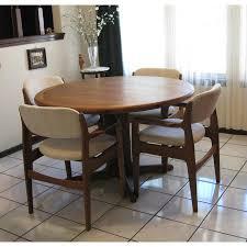 round teak dining table toronto