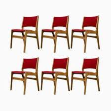 esszimmerstühle aus miver eiche von erik buch für oddense 1950er