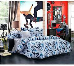 teen boys bedding set newest blue camouflage cool bedding sets queen full size for boys reversible
