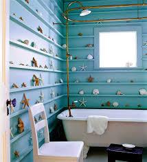 Bathroom Beach Accessories Bathroom Designs Beatiful Large Shelf With Seashell Accessories