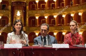 Virginia Raggi Carlo Fuortes Eleonora Abbagnato Editorial Stock Photo -  Stock Image