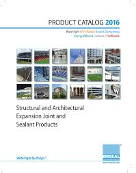 2016 Emseal Product Catalog