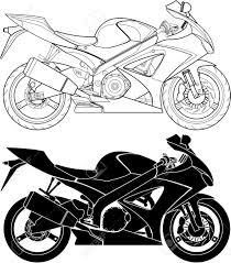 Drawn bike moto 4