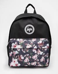 Изображение 1 из Рюкзак с цветочным принтом на кармане ...