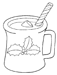 Small Picture Hot Chocolate Coloring Page Printable Coloring Pages Christmas