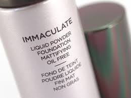 hourgl immaculate liquid powder foundation