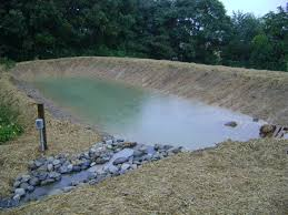 how to build an earthen pond part 3 foodproduction101 grow
