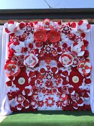 Paper Flower Business Paper Flower Backdrop Package Business Opportunity Wedding Event
