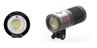 Sea Life Photo Video Light Sealife Introduces Sea Dragon 4500 Lumen Professional Photo