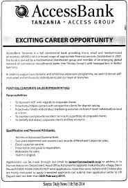 Sales Representative Job Description Corporate Sales Representative TAYOA Employment Portal 4