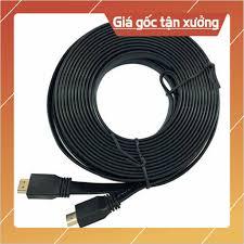Chất lượng] Dây HDMI - Cáp HDMI 10 mét - Loại dẹt - Bảo hành 3 tháng [Được  Xem Hàng], Giá tháng 11/2020