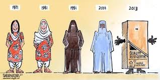 women banned from shopping alone in northern   the extremely conservative segregated misogynist taliban ruled state we have already left arabs far behind in terms of putting restrictions on women