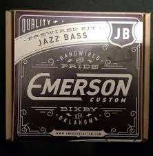 emerson jazz bass wiring harness talkbass com