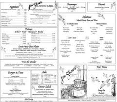 Want to eat at jim's restaurant right now? Our Menu Jim Shaw S Seafood Restaurant Grill Bar In Macon Ga
