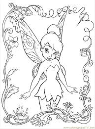 Small Picture Disney Fairy6 Coloring Page Free Disney Fairies Coloring Pages