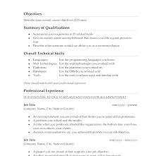 A Good Summary For A Resumes Related Post A Good Job Resume Best Resumes Examples Mmventures Co