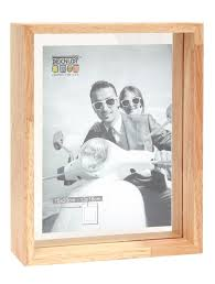 gl frame in natural wood with