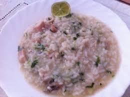 Vietnam: Vietnamese Rice with Squid recipe