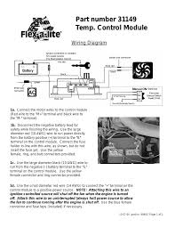 flex a lite fan controller wiring diagram wellread me Dodge Flex-a-lite Fan Wiring Diagram flex a lite fan controller wiring diagram