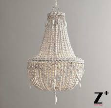 marvelous ideas white wood bead chandelier white beaded chandelier beautiful popular wood bead chandelier