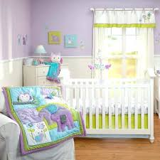 purple owl crib bedding owl crib bedding sets image of baby bedding decor owl crib bedding