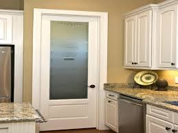 image of decorative etched glass interior doors half door frosted pantry