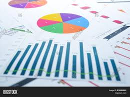 Free Stock Market Charts And Graphs Charts Graphs Paper Image Photo Free Trial Bigstock