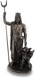 Greek God Of The Underworld Hades Bronze Finished Statue: Amazon.fr: Cuisine & Maison