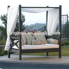 asian canopy beds royal style balcony sun lounge furniture wicker outdoor daybed canopy asian inspired canopy beds